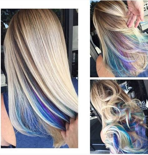 colored roots best 25 hair color ideas on