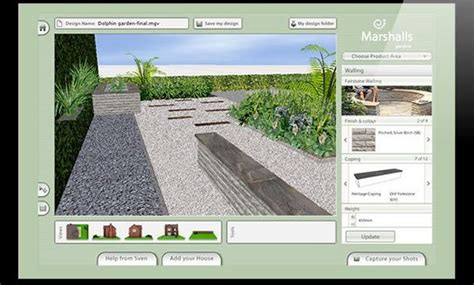 free landscaping tool 8 free garden and landscape design software the self sufficient living