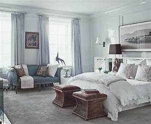 home design idea: Bedroom Decorating Ideas With Blue