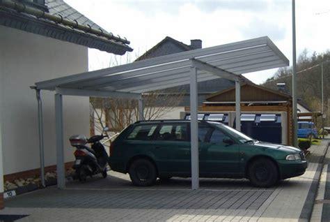 carport bausatz metall anbau carport