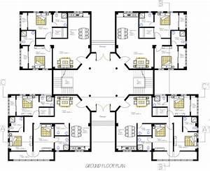 2bhk, U0026, 3bhk, Apartment, Floor, Plan, Details