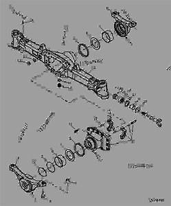 Mfwd Front Axle - Tractor John Deere 5525 - Tractor