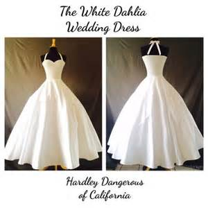 floor and decor denver the white dahlia sateen wedding dress rockabilly 1950s