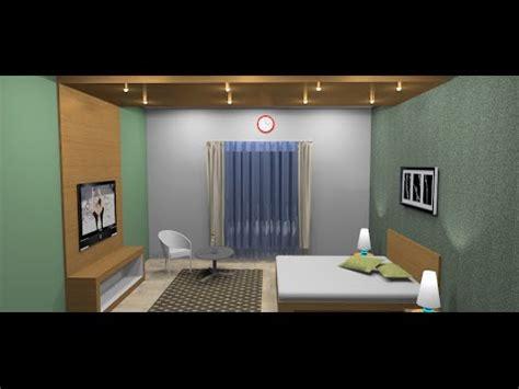 Membuat Kamar Set Dengan Google Sketchup Youtube