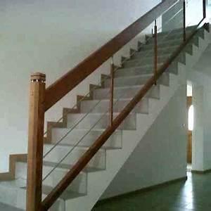 Habillage Escalier Bois : redoutable rampe d escalier inox tunisie descalier ~ Dode.kayakingforconservation.com Idées de Décoration