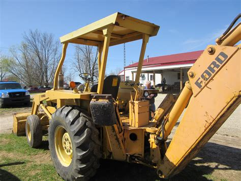 ford  backhoe ford tractors equipment ford