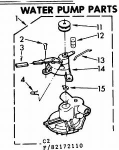 Water Pump Parts Diagram  U0026 Parts List For Model