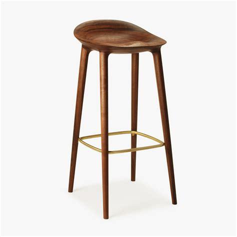 walnut counter stools bar stool great dane 3337