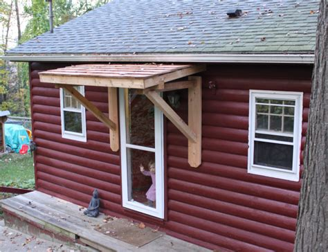 the door awnings how to build wood awning door clumsy50krj