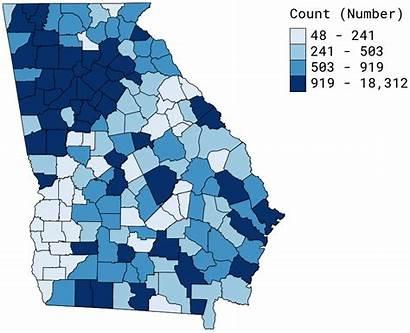 Poverty County Level Georgia State Ga Report