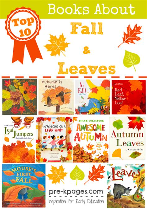 best picture books about fall for preschool 391 | preschool books about fall