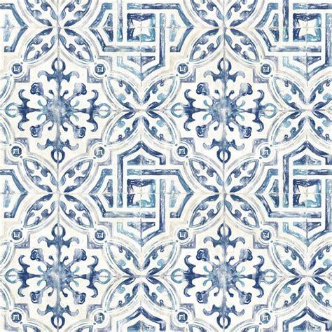 3117 12332   Sonoma Blue Spanish Tile   Wallpaper Boulevard