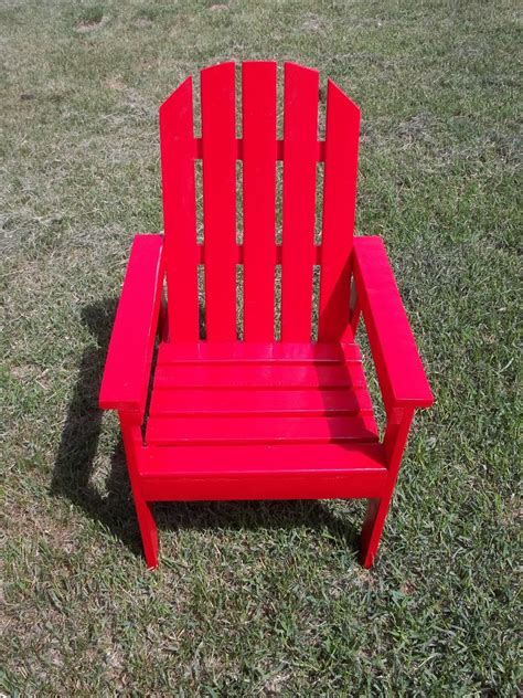 ana white kid sized adirondack chair  charity diy