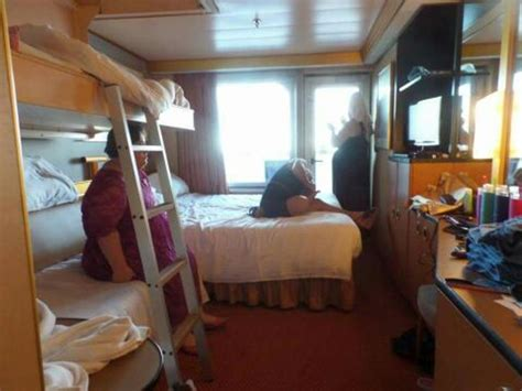 Balcony Cabin On Carnival Triumph, Category F