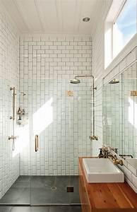 Subway tile patterns modern bathroom urbis magazine for Subway tile bathroom