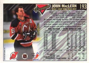 1993-94 O-Pee-Chee Premier - Gold Hockey - Gallery ...