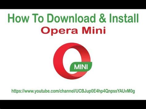 Download now prefer to install opera later? How to Download & Install Opera Mini In PC II Windows 7/8.1/10 II - YouTube