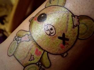 Wounded Teddy Bear- This is actually my tattoo! And it ...
