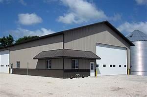 albert city ia ag storage shop building lester With 50x80 pole barn