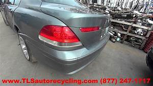 Parting Out 2002 Bmw 745i - Stock - 6027br