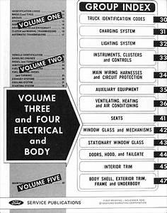 1971 Ford Truck Repair Shop Manual Original 5 Volume Set