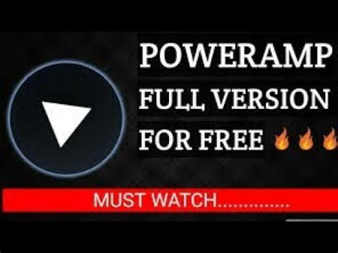 How To Access Poweramp Full Version For Free! Youtube