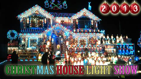 house light show 2013 best outdoor decorations in new york amazing