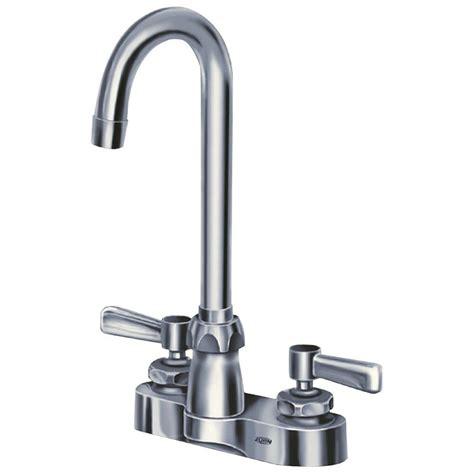 zurn   centerset  handle gooseneck bathroom faucet