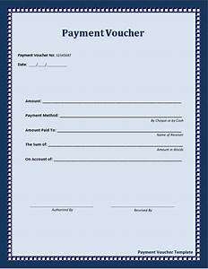 10 free sample payment voucher templates printable samples With voucher html template