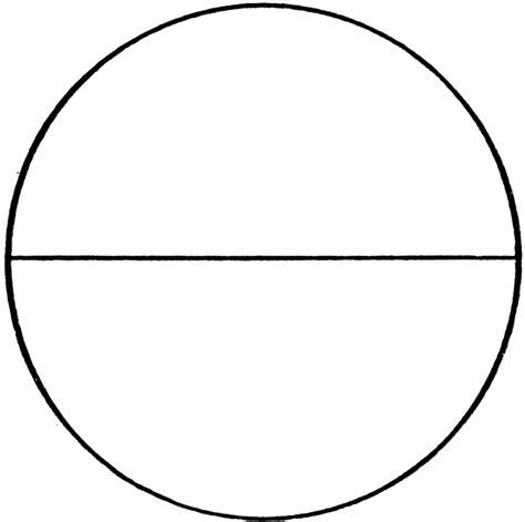 circle  diameter clipart
