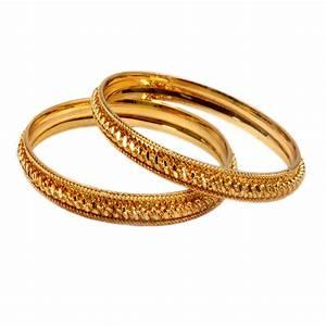 Pourni Gold Plated Bangles (Design 3) Prices in India ...
