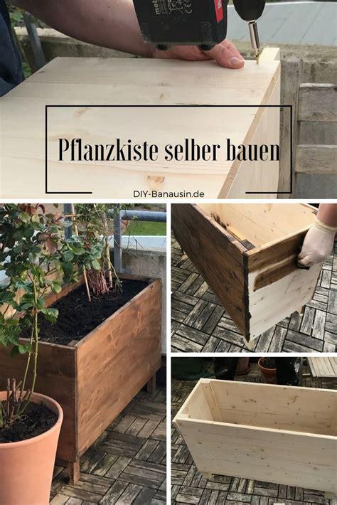 Hochbeet Für Den Balkon by Pflanzkiste Hochbeet F 252 R Den Balkon Selber Bauen Wir