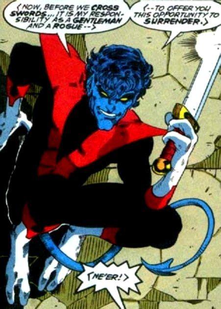 Nightcrawler - Ever the Gentleman in Excalibur ...