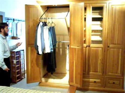 motorized closet clothing bar youtube