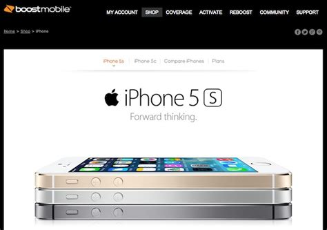 boostmobile iphone 5s boost mobile iphone 5s iphone 5c pricing revealed ubergizmo