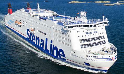 stena scandinavica ferry stena  cruisemapper