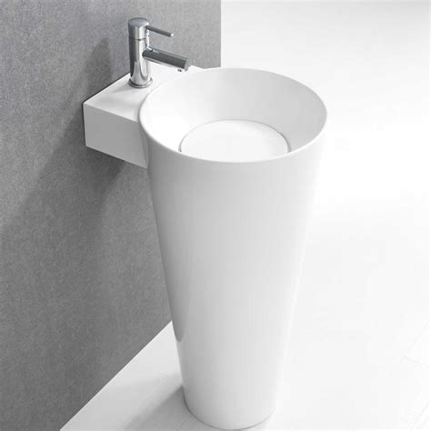 small pedestal sink modern kohler pedestal sink homes to