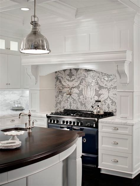 gray  white backsplash ideas pictures remodel  decor