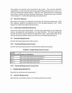 functional requirements document template With functional specification document template