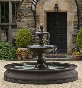 Caterina, Outdoor, Water, Fountain, In, Basin