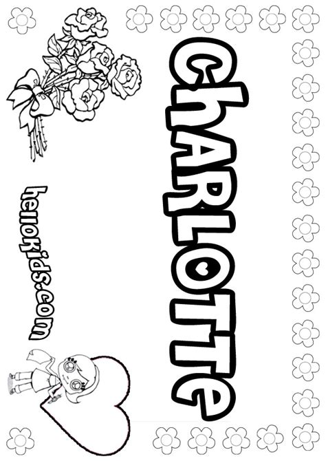 charlotte coloring pages hellokidscom