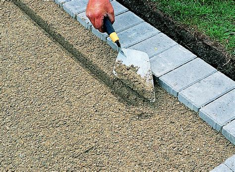 lay paving blocks gravel asphalt ideas