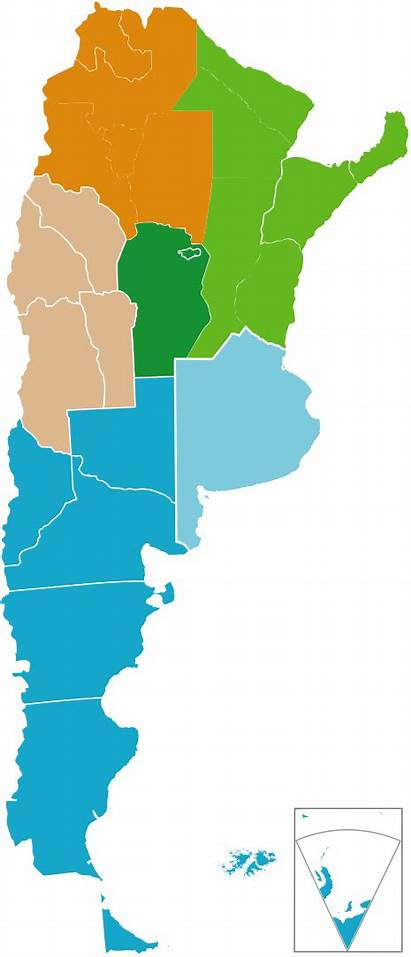 Argentina Regions Tourist Svg Wikipedia Cuyo Tourism