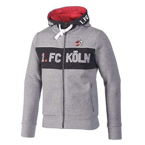 """Maybe you would like to learn more about one of these? 1. FC Köln Sweatjacke """"Jägerstraße""""   Von Arsch huh bis ..."""
