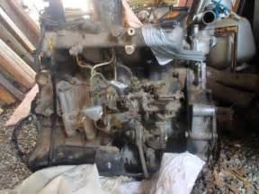 Nissan Td27 Motor Engine Twizel