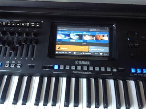 yamaha genos keyboard yamaha genos digital keyboard workstation for sale in