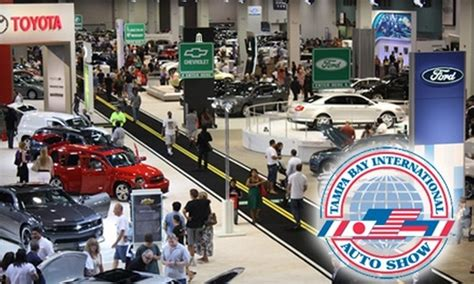 Tampa Bay International Auto Show In Tampa, Florida Groupon