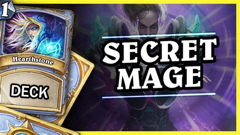 un goro secret mage hearthstone decks