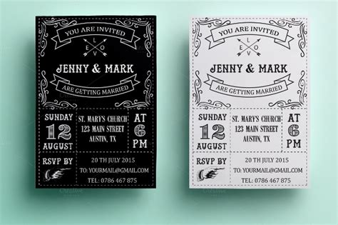 creative wedding invitation cards