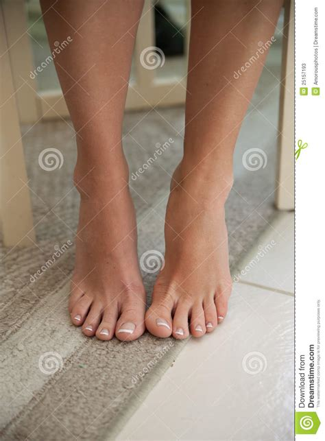 bare feet  legs  woman stock image image  toes